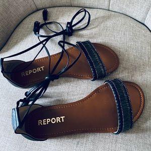 REPORT gladiator sandals!